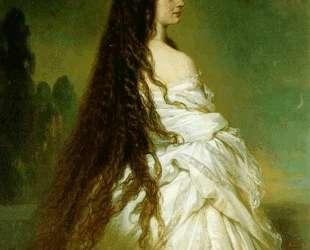 Elisabeth Kaiserin von Osterreich — Франц Ксавер Винтерхальтер