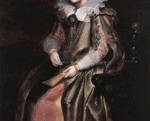 Elisabeth (or Cornelia) Vekemans as a Young Girl — Корнелис де Вос