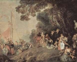 Pilgrimage on the Isle of Cythera — Антуан Ватто