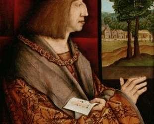 Emperor Maximilian I (1459-1519) — Бернхард Штригель