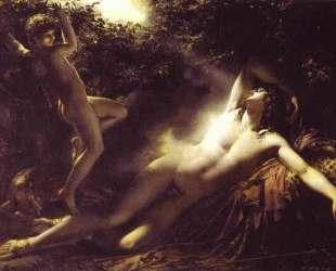 Спящий Эндимион — Жак Луи Давид