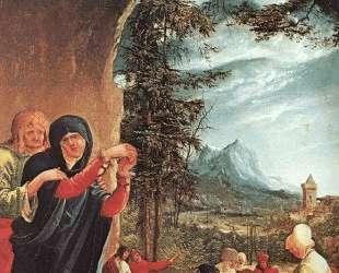 Погребение Христа — Альбрехт Альтдорфер
