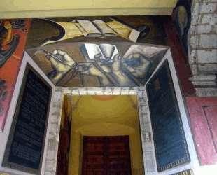 Entrance of Colegio de San Ildefonso — Хосе Клементе Ороско