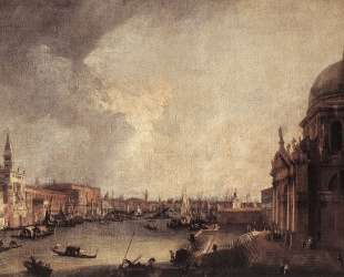 Entrance To The Grand Canal Looking East — Каналетто