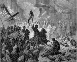Вход крестоносцев в Константинополь в 1204 году — Гюстав Доре