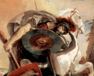 Eteokles and Polyneikes — Джованни Баттиста Тьеполо