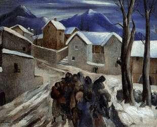 EVACUATION OF THE PYRENEES 1941 — Вела Дзанетти