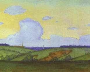 Evening Landscape — Мстислав Добужинский
