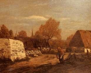 Farm near Quimper — Эжен Буден