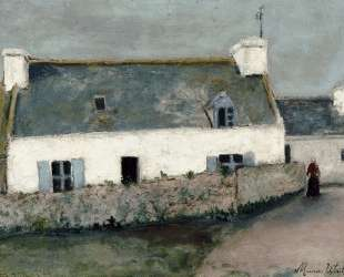Farm on L'Ile d'Ouessant (Finistere) — Морис Утрилло