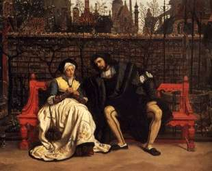 Faust and Marguerite in the Garden — Джеймс Тиссо