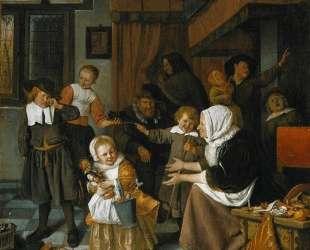 Feast of St. Nicholas — Ян Стен