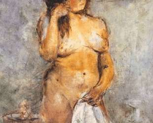 Female bather — Владимир Татлин