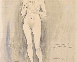 Female Nude (Study for 'Truth') — Фердинанд Ходлер