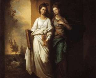 Fidelia and Speranza — Бенджамин Уэст