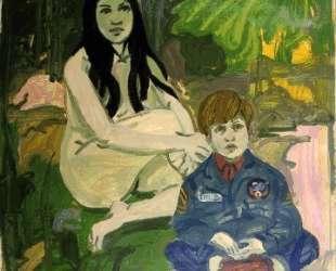 Figure with Child — Нил Уэлливер