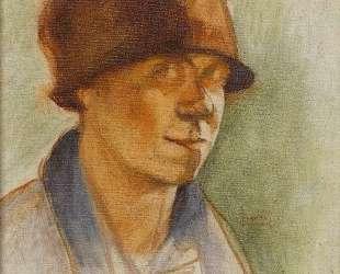 Figure with hat — Теофрастос Триантафиллидис