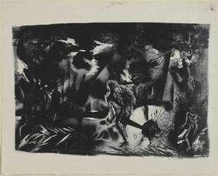Ландшафт с фигурами — Джексон Поллок