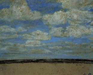 Fine Weather on the Estuary — Эжен Буден