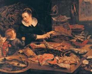 Fish-shop — Франс Снейдерс