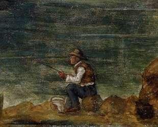 Fisherman on the Rocks — Поль Сезанн