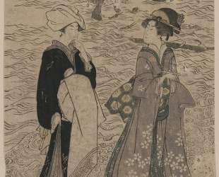 Fishing net — Утагава Тоёкуни