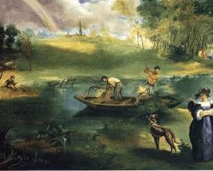 Fishing — Эдуард Мане