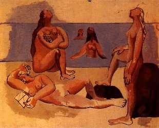 Five bathers — Пабло Пикассо