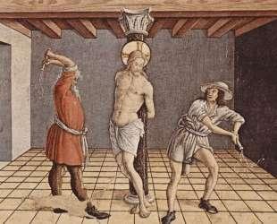 Flagellation of Christ — Карло Кривелли