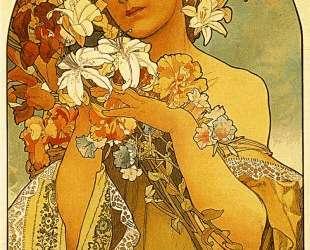 Flower — Альфонс Муха