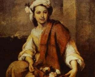 Flower Seller — Бартоломе Эстебан Мурильо