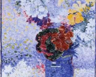 Flowers in a Glass — Анри Эдмон Кросс