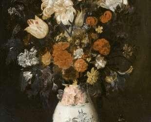 Flowers in a vase — Юдит Лейстер