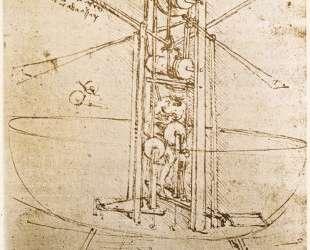 Flying machine — Леонардо да Винчи
