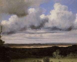Фонтенбло, буря над равниной — Камиль Коро