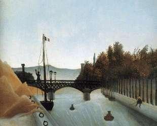 Footbridge at Passy — Анри Руссо
