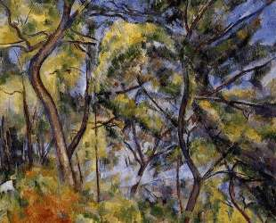 Forest — Поль Сезанн