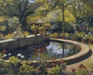 Fountain in My Garden — Анри Мартен