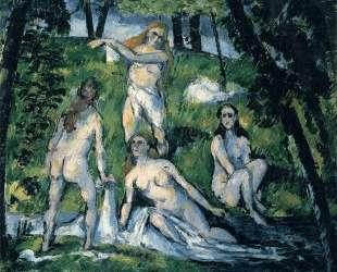 Four Bathers — Поль Сезанн