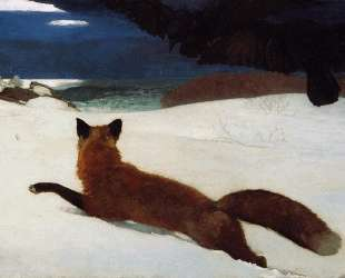 Fox Hunt — Уинслоу Хомер