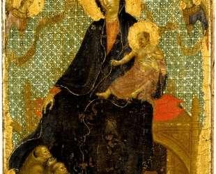 Franciscan Madonna — Дуччо