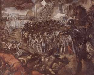 Frederick II conquered Parma in 1521 — Тинторетто