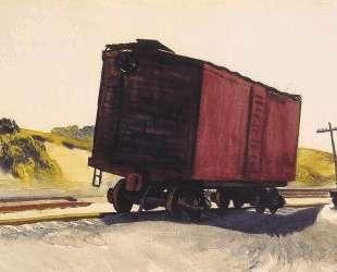 Freight Car at Truro — Эдвард Хоппер