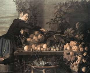 Fruit and Vegetable Seller — Франс Халс