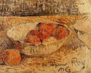 Фрукты в миске — Поль Гоген