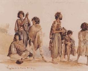 Galician gypsies — Рудольф фон Альт