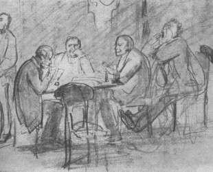 Game Preference (sketch) — Виктор Васнецов