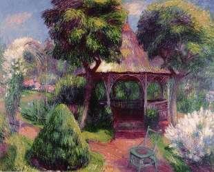 Garden in Hartford — Уильям Джеймс Глакенс