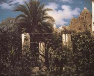 Garden of an Inn Capri — Фредерик Лейтон