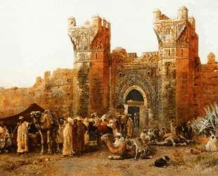 Gate of Shehal, Morocco — Эдвин Лорд Уикс